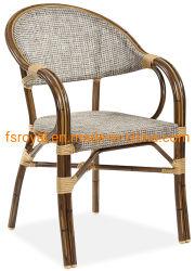 [إك-فريندلي] ماليّة فناء اصطناعيّة [رتّن] [ويكر] خارجيّ مطعم أثاث لازم كرسي تثبيت
