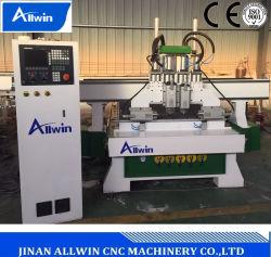 4 Atc CNC van de as Multi Functionele Machine 1325 van de Router de Machines van de Houtbewerking