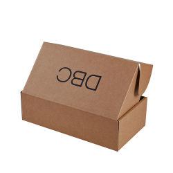 Commerce de gros de chaussures en carton ondulé de papier Kraft Personnalisée Emballage