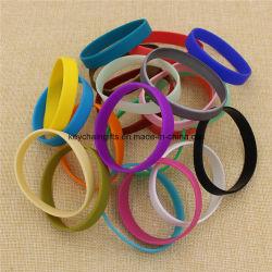 Custom дешевые резиновые печати/рельефным/Debossed/светлый силиконовый браслет браслет с логотипом