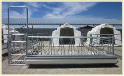 Heavy Duty Cattle Iron Fence Panel gegalvaniseerd ijzeren hekpaneel