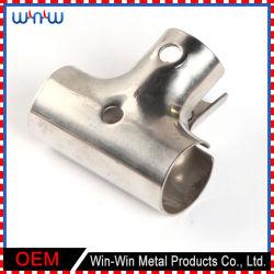 Соединение сварки изготовления металла печатает тройнику медный штуцер на машинке трубы