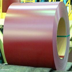 Galvalume Pre-Painted acier de gros de la bobine avec la couleur rouge