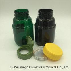 Sécurité enfant de nouvelle conception des bonbons en plastique Pet Food Grade Jar avec capuchon Cr