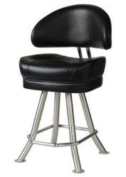 Quatre de la jambe Metal Casino Président cuir synthétique avec mousse de moulage par injection/Casino Seating/logement Président/Poker chaise/tabouret chaise/tabouret Casino K65-1