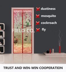 Сеть двери с защитной сеткой далеко от мухы; Москит, таракан и запыленность
