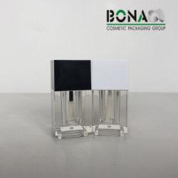 Bottiglia di lucentezza dell'orlo del quadrato 4ml di prezzi di fabbrica con il coperchio quadrato