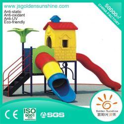 Parque de diversiones al aire libre de plástico deslizante equipos con Ce/Certificado ISO