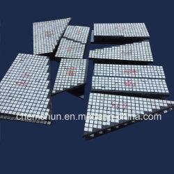 Piatti di ceramica di usura di appoggio gomma resistente abrasiva