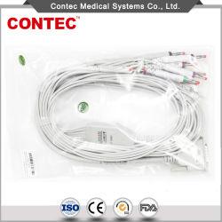 Electrocardiograph용 Contec Banana 플러그 DB15 4.0 ECG 케이블
