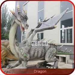 Draghi a grandezza naturale del giardino del drago