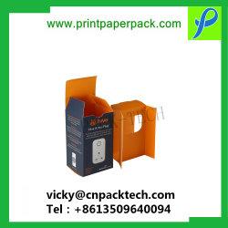 Boîte de dialogue Custom imprimé produit d'emballage durables de l'emballage emballage de liquides E Case personnalisé