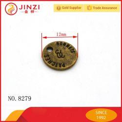 Pièce de métal Antique-Brass personnalisé Tags Nom Médaille souvenir