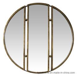 De drievoudige Vouwen vormen de Moderne Spiegels van de Badkamers van de Decoratie van het Huis van de Spiegels van de Muur