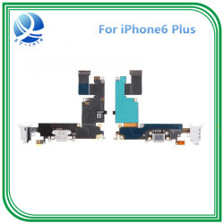 iPhone용 USB 충전 독 포트 마이크 헤드폰 플렉스 케이블 6 Plus