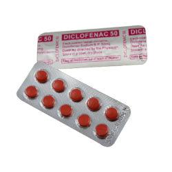 Diclofenaco sódico tabletas 50mg, 10X10's/caja, los medicamentos occidentales