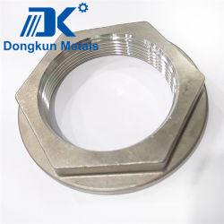 Se utiliza para el sensor/para el pescado Finder//Equipo de fundición a la cera perdida Ultra-Sonic/Acero Inoxidable/tuerca/Tuerca de acero inoxidable