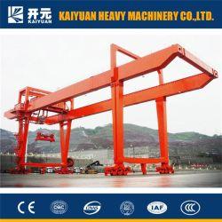 50 Ton Hoge Kwaliteit Travelling Container Gantry Crane