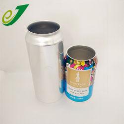 L'impression couleur aluminium peut 500ml de boisson gazeuse peut 500ml