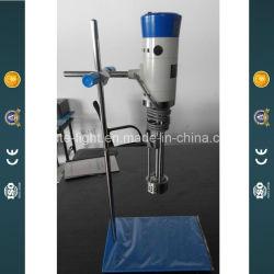 Laboratorio de acero inoxidable de alto cizallamiento de emulsionante homogénea