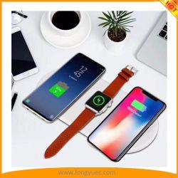 2018 года апреля 3 новоприбывших в 1 Беспроводной быстрое зарядное устройство для iPhone Iwatch Samsung 3 устройств в то же время