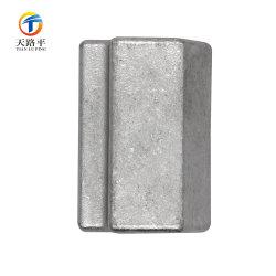 La inversión de precisión de la fundición de acero inoxidable 304 Two-Parent fijaciones fijación conjunta