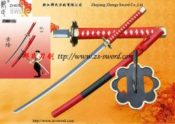 Einteilige Zoro Shuusui Klinge-rote Scheide-Kampfkunst Cosplay Stützen