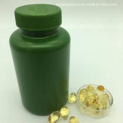 De gepersonaliseerde Groene PE 200ml Plastic Verpakkende Flessen Zonder lucht van de Voeding met het Metaal GLB van het Aluminium