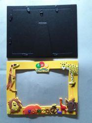 3D pvc van uitstekende kwaliteit Photo Frame van Plastic Promotional Gift (pf-034)