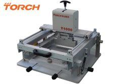 Manual de antorcha de soldadura en pasta de funcionamiento fácil Pantalla Galería de la impresora para PCB SMD