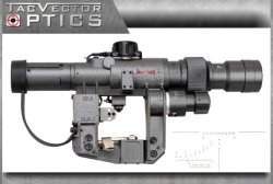 Тактический объем винтовки Dragunov 3-9X24 Ak Svd тактический воинский Ffp