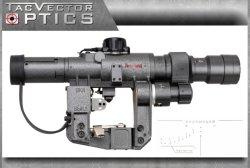 Tactical Dragunov 3-9X24 Ak Svd Tactical Military Ffp Rifle Scope