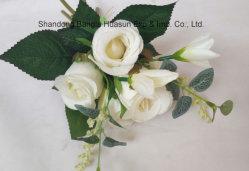 La Maison et décoration de mariage de fleurs de soie Fleurs artificielles