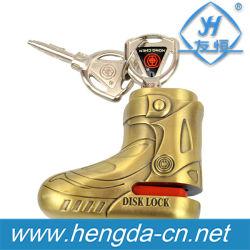 Yh9181 Patentd Popular antirrobo de ventas de motocicletas de bloqueo de freno de disco con 2 llaves