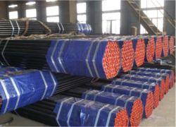 ASTM A53 Gr. ASIME B36.10 B A106 Gr. B API 5L Gr. ب أنبوب فولاذي بارد/مللفن ساخن من الكربون