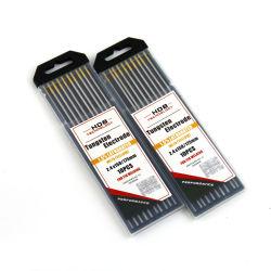 Usine Alimentation directe de la tête d'or WL15- 1,5%la TIG électrodes en tungstène
