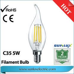 LED-Dekoration-Licht GLS 4W 6W 8W wärmen weißes St60 8W C35 4W