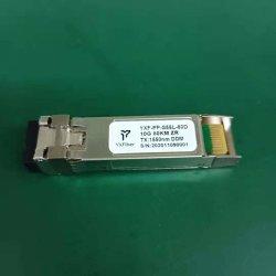 Module fibre optique 10g émetteur-récepteur optique SFP double 1550nm 80km de distance