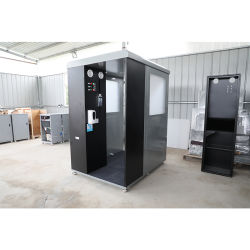 L'atomisation de désinfection UV de désinfection de l'ozone Cabinet marcha par le biais de la désinfection des armoires avec appareil photo de la température du corps humain