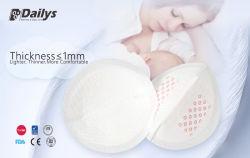 Formato 3D super absorvente Janpan descartáveis Almofada de mama maternidade SAP