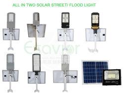 Todos em dois separados lâmpada LED Solar/Jardim/Flood/Piscina luz para iluminação Rural com 3 anos de garantia do fabricante/TUV-Sud Certificados/50W ou a potência máxima