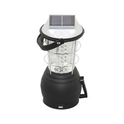 Handkurbel Solar LED Laterne Outdoor Handheld-Lampe