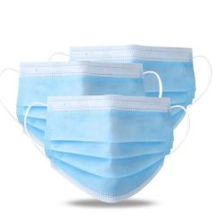 En14683 сертификат CE медицинские маски 3 Ply Non-Woven защитные одноразовые респираторные маски для лица хирургических маску для лица
