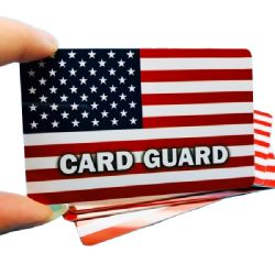 Die KreditkarteScheckkarte RFID kundenspezifisch anfertigen, die Karte blockt