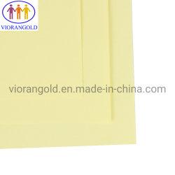 노란 격자 Kraft 방출 종이, 총 Grammage 110g 의 11# 마름모꼴 격자, 두 배 옆 PE 코팅, 단 하나 옆 실리콘유 코팅