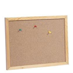 لوحة Cork مثبتة على الحائط مقاس 450X600 مم