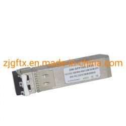 La fibra óptica C20~C61 a 80km Ddm DWDM 10g de fibra óptica el transceptor SFP+