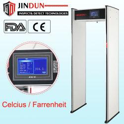 금속 포함 지능형 보안 온도계 도어를 통한 디지털 적외선 도보 검출기
