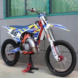 2 course de Motocross 125cc 6 pignons Dirt Bike moto transnationale avec la CE