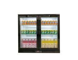 Tabela de barras comerciais do resfriador superior do display Refrigerador de Bebidas do refrigerador de vidro